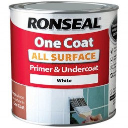 Ronseal One Coat All Surface Primer and Undercoat  White