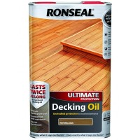 Ronseal Ultimate Protection Decking Oil Natural Oak - 5 Litre