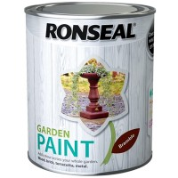 Ronseal Garden Paint Bramble Brown 750ml