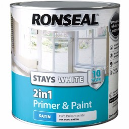 Ronseal Stays White 2in1 Primer and Paint