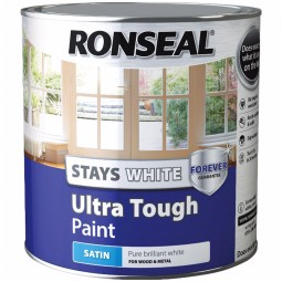 Ronseal Stays White Ultra Tough Paint