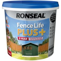Ronseal Fence Life Plus Forest Green 5 Litre