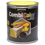 Rust-Oleum CombiColor Multi-Surface Paint 750ml Gloss Light Yellow RAL1018