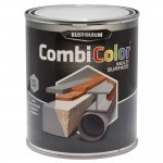 Rust-Oleum CombiColor Multi-Surface Paint 750ml Gloss Steel Grey RAL7001