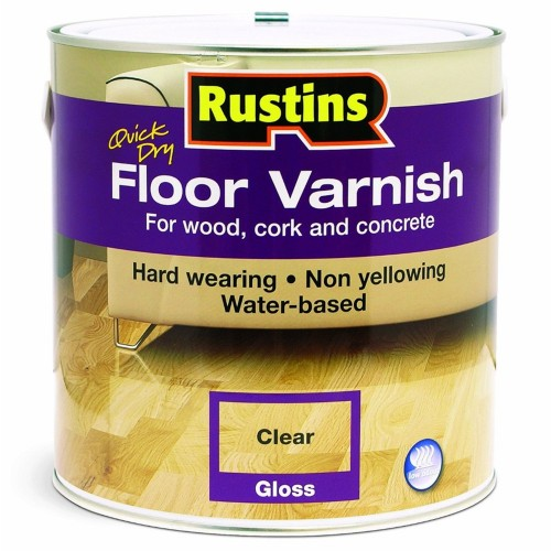 Rustins Acrylic Quick Drying Floor Coating Gloss Clear 1