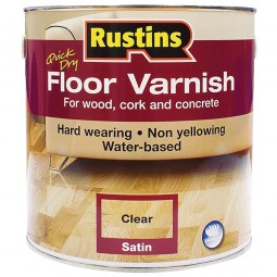 Rustins Acrylic Quick Drying Floor Coating Satin