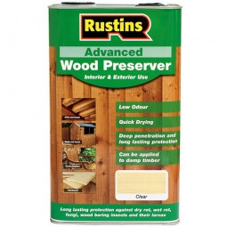 Rustins Advanced Wood Preserver Interior & Exterior