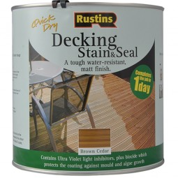 Rustins Decking Stain and Seal