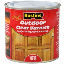 Rustins Quick Drying Outdoor Varnish