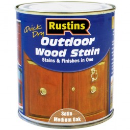 Rustins Quick Drying Outdoor Woodstain