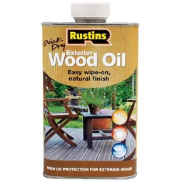 Rustins Quick Drying Exterior Wood Oil