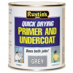 Rustins Quick Drying Wood Primer Undercoat Grey - 250ml