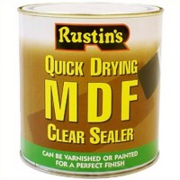 Rustins Quick Drying MDF Sealer Clear - 250ml