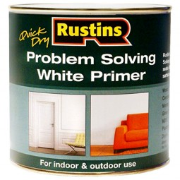 Rustins Quick Drying Problem Solving White Primer