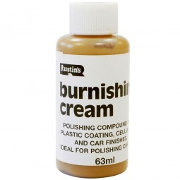 Rustins Plastic Coating Burnishing Cream - 63ml