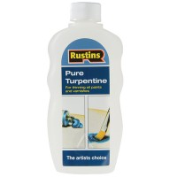 Rustins Pure Turpentine Turps - 300ml