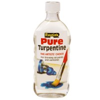 Rustins Pure Turpentine Turps - 500ml