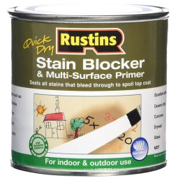 Rustins Quick Drying Stain Blocker & Multi-Surface Primer White Matt