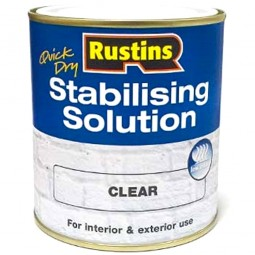 Rustins Quick Drying Stabilising Solution Clear - 500ml