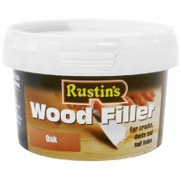 Rustins Wood Filler Oak - 600g