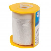 Silverline Masking Shield Tape and Dispenser 550mm x 33 Metres