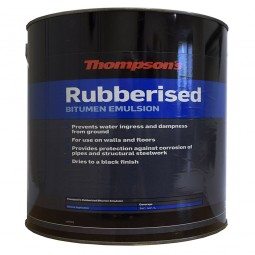 Thompsons Rubberised Bitumen Emulsion Black 2.5 Litre