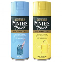Rust-Oleum Yellow and Blue Spray Paints Tour De Yorkshire Colours