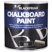 Blackfriar Blackboard Paint Black  - 125ml