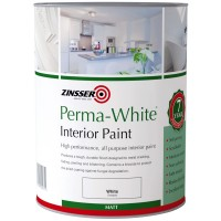 Zinsser Perma-White Interior Paint Matt - 2.5 Litre