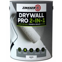 Zinsser Drywall Pro 2 in 1 Primer and Sealer System White Matt 5 Litre