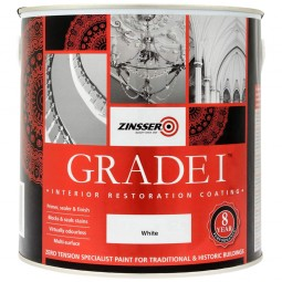 Zinsser Grade 1 Interior Restoration Coating White Matt 2.5 Litre