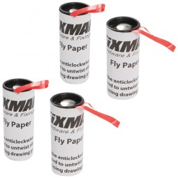 Fixman Hanging Adhesive Fly Catching Paper 4 Pack