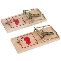 Fixman Wooden Mouse Trap 2 Pack
