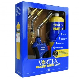 Vortex Soldering and Brazing Gas Torch with MAPP Gas