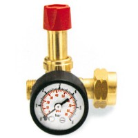 Rothenberger Propane Gas High Pressure Regulator With Gauge