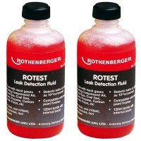 Rothenberger Rotest Leak Detection Fluid - 2 x 120ml
