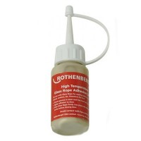 Rothenberger Glass Rope High Temperature Adhesive - 30ml