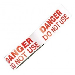 Rothenberger Danger Do Not Use Tape 33 Metres