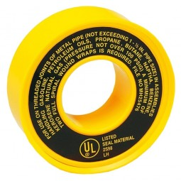 Rothenberger PTFE Gas Tape 25 Metres - 5 Roll Pack