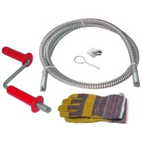 Rothenberger Ropower Hand Drain and Pipe Cleaner Kit 2.3 Metres