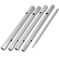 Silverline Monoblock Back Nut Spanner Set - 4 Piece