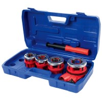 Silverline Pipe Threading Kit - 5 Piece