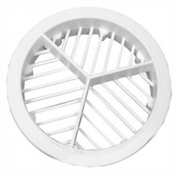 Roof Ventilation Circular Round Soffit Vent - 70mm