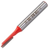 Silverline 1/4in Straight Metric TCT Router Cutter 4mm x 12mm