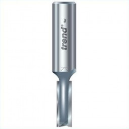 Trend 3/5 x 1/2in Shank TCT Twin Flute Straight Router Cutter