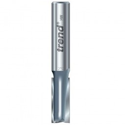 Trend 3/81 x 1/2in Shank TCT Twin Flute Straight Router Cutter