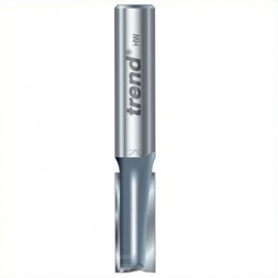 Trend 3/83M x 1/2in Shank TCT Twin Flute Straight Router Cutter