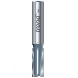 Trend 3/83 x 1/2in Shank TCT Twin Flute Straight Router Cutter