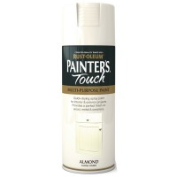 Rust-Oleum Painters Touch Almond Gloss Spray Paint - 400ml