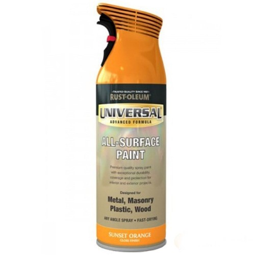 Rust Oleum Universal All Surface Spray Paint Dry Time
